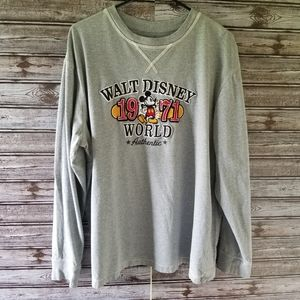 Disney Parks Graphic Long-sleeved Shirt Size XL